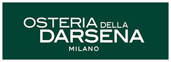 Osteria della Darsena ristorante navigli Milano e cocktails | Pranzo Cena cucina osteria Milano Navigli ristorante | Immagine logo slide